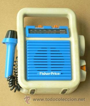 RADIO FISHER PRICE, FUNCIONA (Radios, Gramófonos, Grabadoras y Otros - Transistores, Pick-ups y Otros)