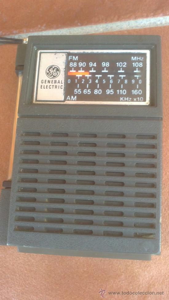 ANTIGUO TRANSISTOR RADIO GENERAL ELECTRIC MODEL:7-2506A (Radios, Gramófonos, Grabadoras y Otros - Transistores, Pick-ups y Otros)