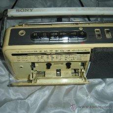Radios antiguas: RADIO CASSETTE SONY CFM 140L. AÑOS 70. 4 BANDS. KOREA. .. Lote 71679075