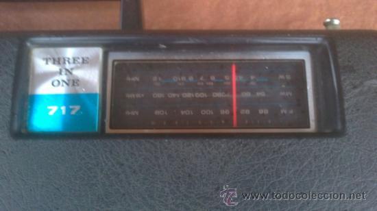 Radios antiguas: COMBINADO MUSICAL SILVANO 717 THEREE IN ONE - Foto 2 - 193974740