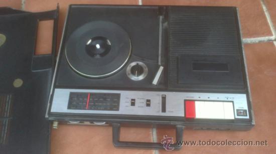 Radios antiguas: COMBINADO MUSICAL SILVANO 717 THEREE IN ONE - Foto 4 - 193974740