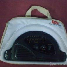 Radios antiguas: RADIO REIG BOLSO VINTAGE. Lote 39512346