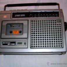 Radios antiguas: RADIO CASETE SHARP GF-1700. Lote 39587367