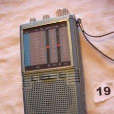 Radios antiguas: ANTIGUA RADIO TRANSISTOR MULTIBANDA FUNCIONANDO CORRECTAMENTE. Lote 96980486