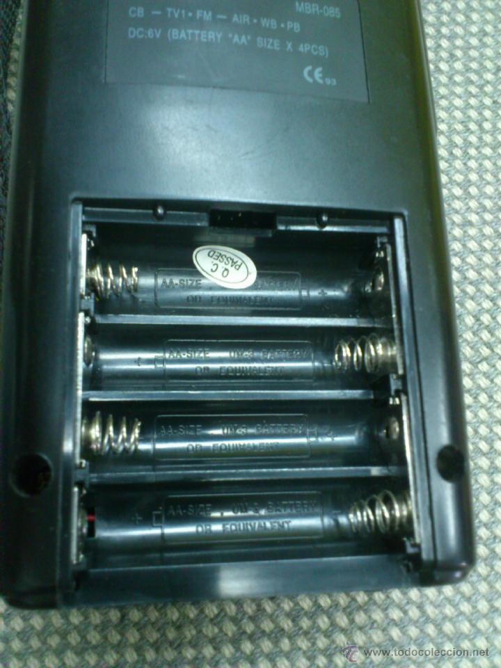 Radios antiguas: . RADIO TRANSISITOR SUPERTECH MULTI BAND PORTABLE RADIO RECEIVER. FUNCIONANDO - Foto 7 - 172202560