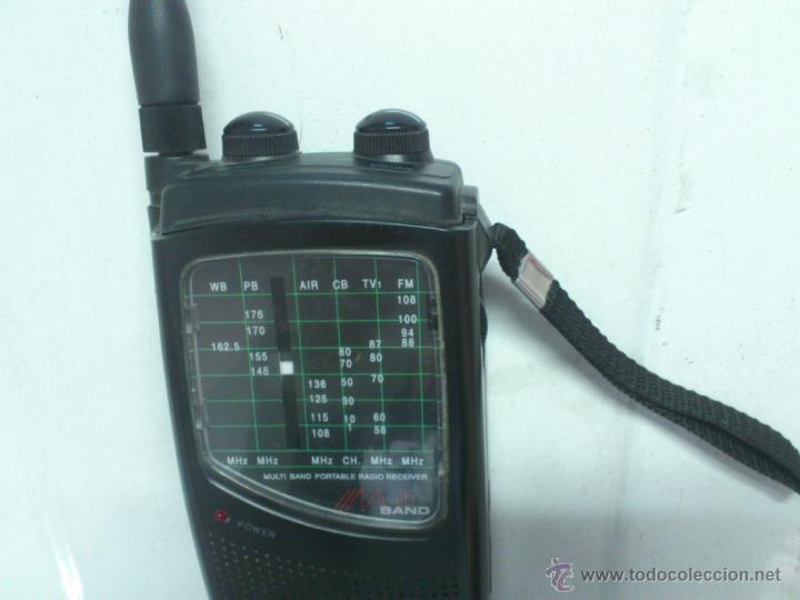 Radios antiguas: . RADIO TRANSISITOR SUPERTECH MULTI BAND PORTABLE RADIO RECEIVER. FUNCIONANDO - Foto 3 - 172202560