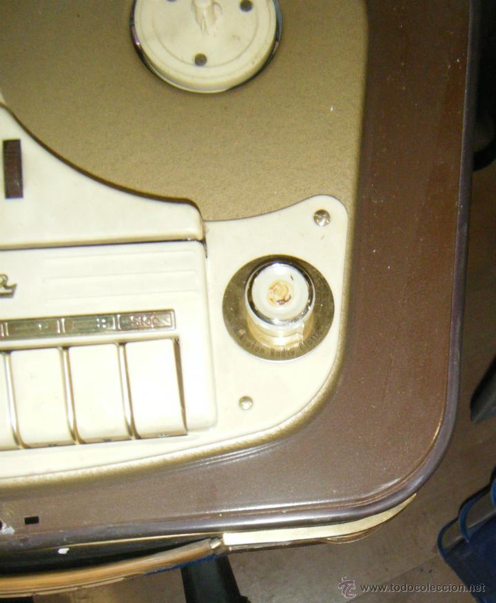 Radios antiguas: RADIO GRABADOR MARCA SABA. DESCONOZCO ANTIGUEDAD Y FUNCIONAMIENTO. VER FOTOS. EN GENERAL - Foto 5 - 40025753