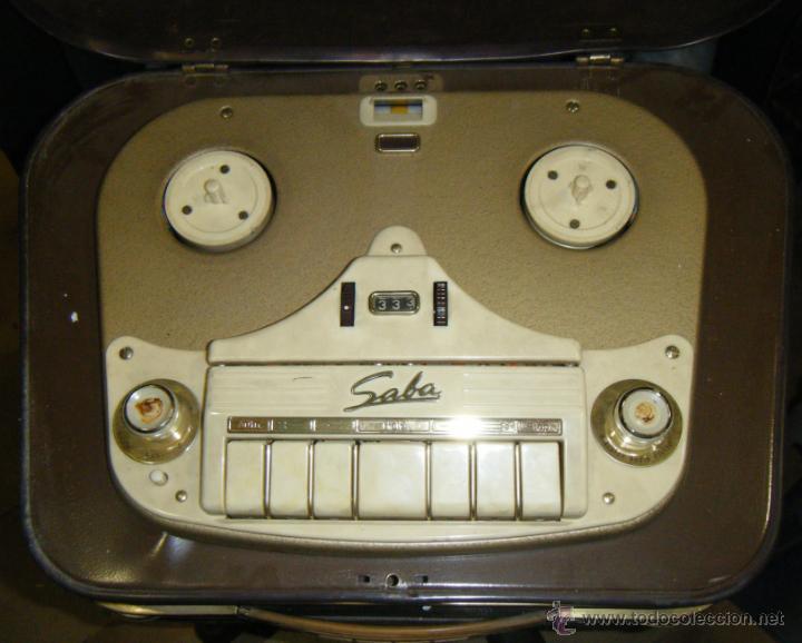 Radios antiguas: RADIO GRABADOR MARCA SABA. DESCONOZCO ANTIGUEDAD Y FUNCIONAMIENTO. VER FOTOS. EN GENERAL - Foto 11 - 40025753
