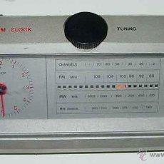 Radios antiguas: ANTIGUO APARATO DE RADIO, TRANSISTOR A PILAS - DESPERTADOR - MARCA PHILIPS - RADIO - NO FUNCIONA - M. Lote 38264571