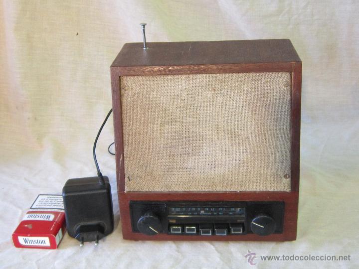 RADIO TRANSISTOR FUNCIONANDO (Radios, Gramófonos, Grabadoras y Otros - Transistores, Pick-ups y Otros)