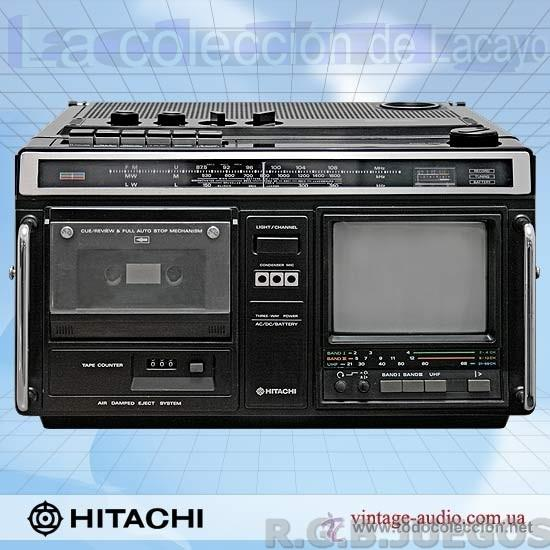 Radios antiguas: CKP-110 TV RADIO HITACHI Ltd.; Tokyo, build 1980 - Foto 2 - 40760025