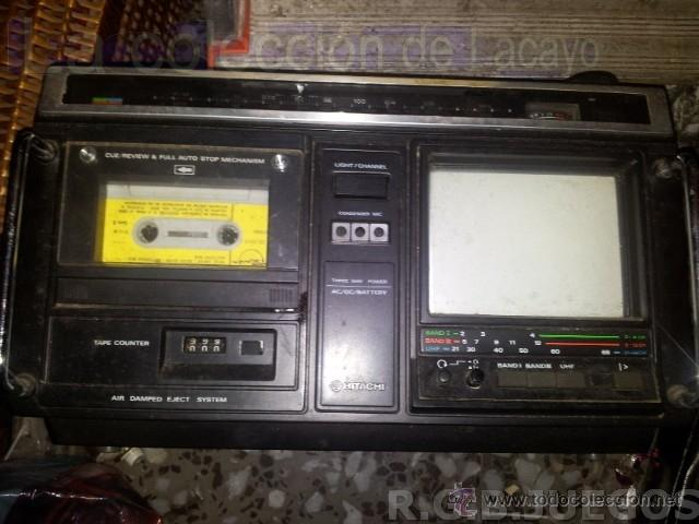 Radios antiguas: CKP-110 TV RADIO HITACHI Ltd.; Tokyo, build 1980 - Foto 3 - 40760025
