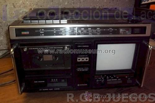 Radios antiguas: CKP-110 TV RADIO HITACHI Ltd.; Tokyo, build 1980 - Foto 14 - 40760025