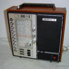 Radios antiguas: RADIO RUSA TENTO MULTIBANDAS MERIDIAN 211 UNA RADIO CON CARCASA DE MADERA COMO LAS DE ANTES LA RADI. Lote 40775143