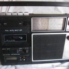 Radios antiguas: RADIO CASSETTE ANTIGUO.. Lote 41020134