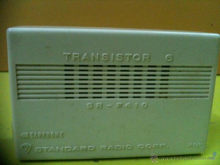 Radios antiguas: TRANSISTOR STANDARD RADIO CORP (JAPAN) - Foto 4 - 41041800