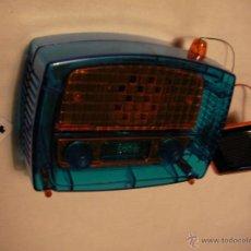 Radios antiguas: RADIO TRANSISTOR MODELO VINTAGE CON ALIMENTACION A PLACA SOLAR Y A PILAS FUNCIONANDO CORRECTAMENTE. Lote 41052133