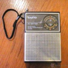 Radios antiguas: RADIO SANYO FUNCIONANDO EN MUY BUEN ESTADO ESTETICO. Lote 41247539