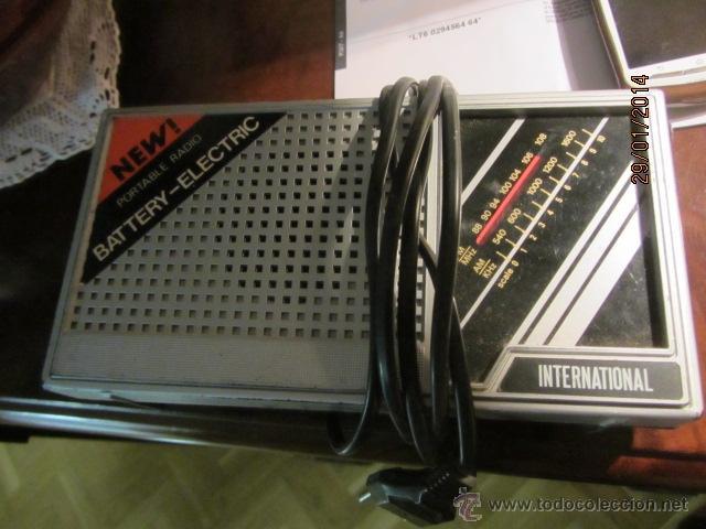 ANTIGUA RADIO INTERNATIONAL (Radios, Gramófonos, Grabadoras y Otros - Transistores, Pick-ups y Otros)