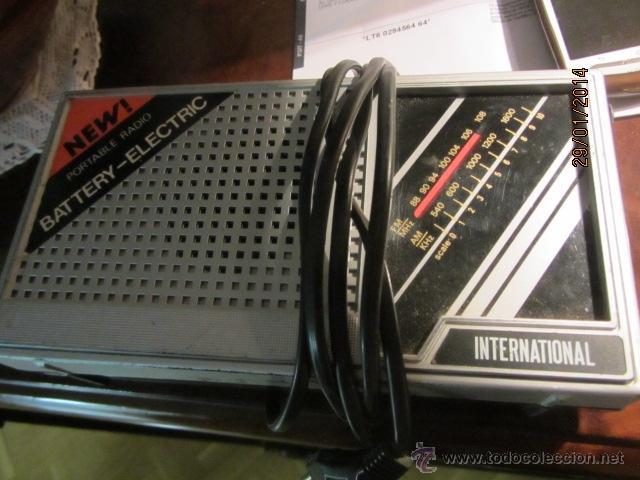 Radios antiguas: Antigua radio international - Foto 2 - 41311299