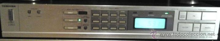 SINTONIZADOR DIGITAL STEREO TOSHIBA ST-S30L (Radios, Gramófonos, Grabadoras y Otros - Transistores, Pick-ups y Otros)