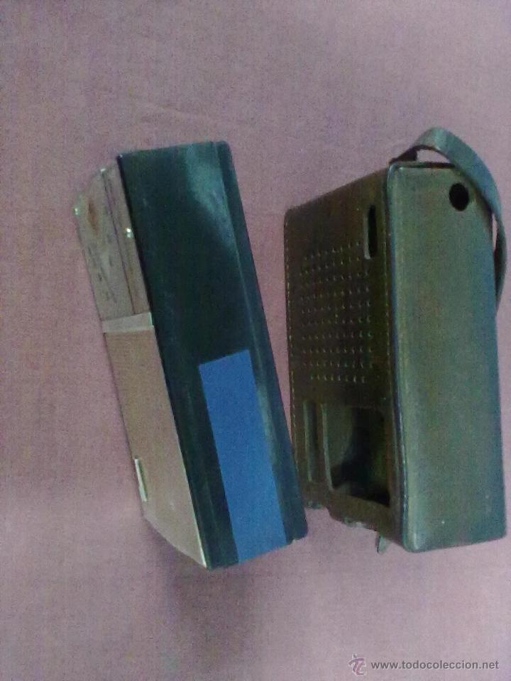 Radios antiguas: RADIO TRANSISTOR USHA DE LUXE ST-7 FUNCIONANDO FUNDA DE CUERO - Foto 2 - 41602974
