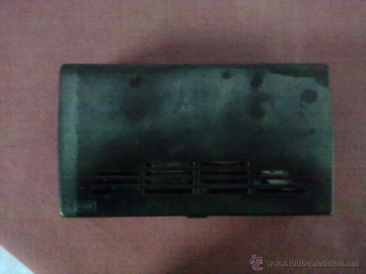 Radios antiguas: RADIO TRANSISTOR USHA DE LUXE ST-7 FUNCIONANDO FUNDA DE CUERO - Foto 7 - 41602974