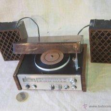 Radios antiguas: MINI RADIO TRANSISTOR FUNCIONANDO. Lote 41625256