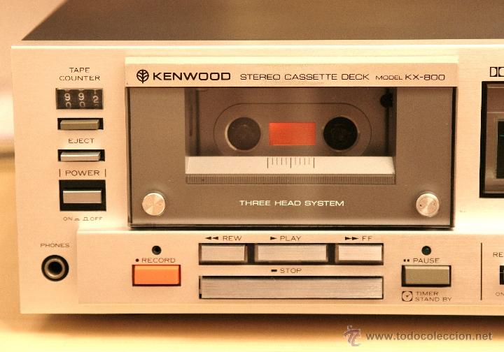 Kenwood Casete Est U00e9reo Modelo Kx-800 - Vendido En Venta Directa