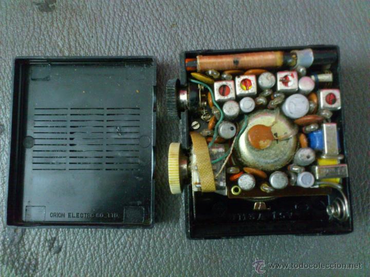 Radios antiguas: RADIO MARCA ORION , SEVEN TRANSISTOR, AM. - Foto 6 - 41854237