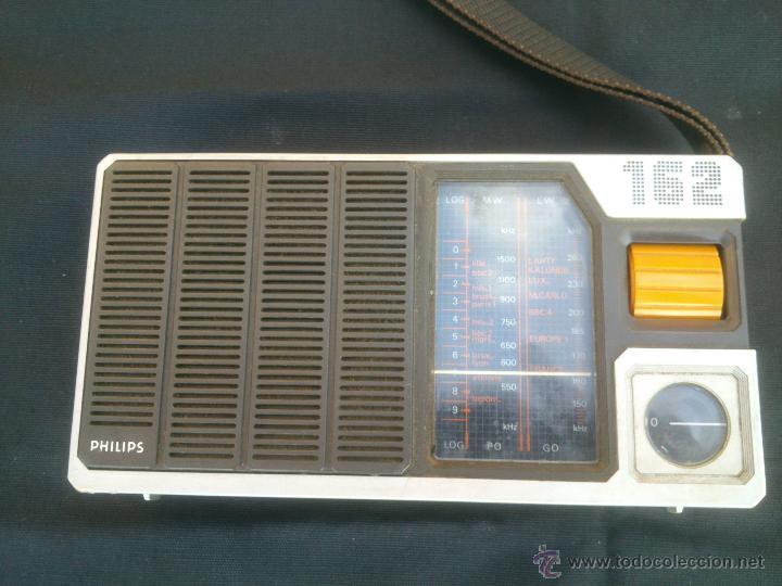 RADIO TRANSISTOR PHILIPS 90 AL 162 .FUNCIONANDO (Radios, Gramófonos, Grabadoras y Otros - Transistores, Pick-ups y Otros)