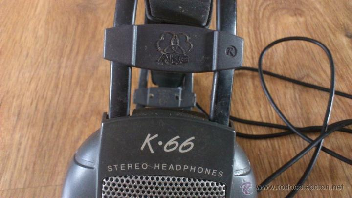 Radios antiguas: Auriculares Akg K 66 No funcionan para reparar. - Foto 3 - 42594059
