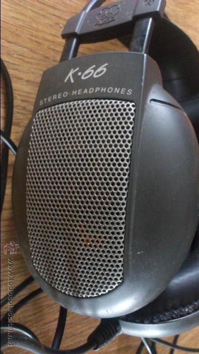 Radios antiguas: Auriculares Akg K 66 No funcionan para reparar. - Foto 5 - 42594059