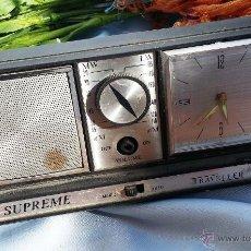 Radios antiguas: VIEJA RADIO-DESPERTADOR.. Lote 42600651