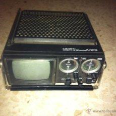 Radios antiguas: TRANSISTOR CROWN PORTABLE TV FM -AM 2 BAND RADIO AC-BATT-CAR. Lote 42699437