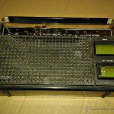 Radios antiguas: RECEPTOR RADIO PORTATIL PHILIPS MODELO 90AL360/51R. Lote 42856481