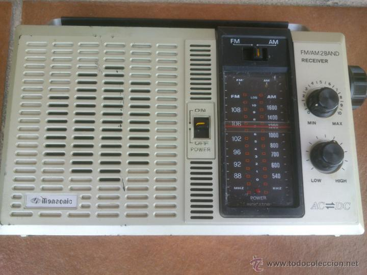RADIO DE TRANSISTORES MANSONIC 2 BAND FUNCIONANDO (Radios, Gramófonos, Grabadoras y Otros - Transistores, Pick-ups y Otros)