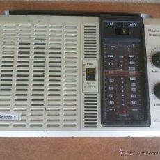 Radios antiguas: RADIO DE TRANSISTORES MANSONIC 2 BAND FUNCIONANDO. Lote 43049648