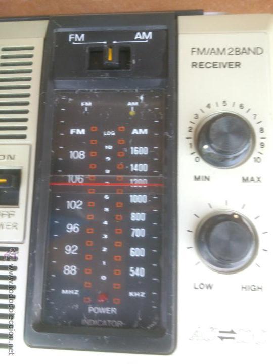 Radios antiguas: RADIO DE TRANSISTORES MANSONIC 2 BAND FUNCIONANDO - Foto 2 - 43049648