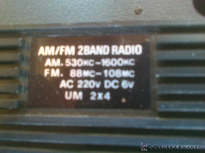 Radios antiguas: RADIO DE TRANSISTORES MANSONIC 2 BAND FUNCIONANDO - Foto 3 - 43049648