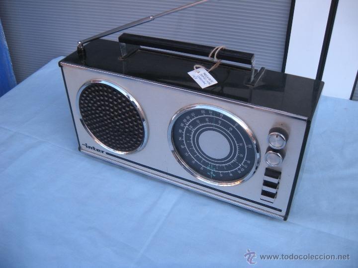RADIO TRANSISTOR INTER. (Radios, Gramófonos, Grabadoras y Otros - Transistores, Pick-ups y Otros)
