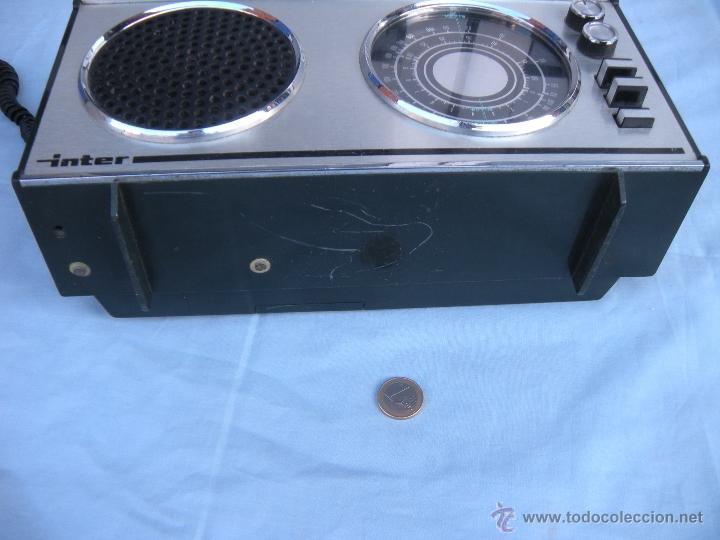 Radios antiguas: RADIO TRANSISTOR INTER. - Foto 5 - 123570736