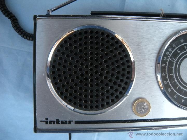 Radios antiguas: RADIO TRANSISTOR INTER. - Foto 6 - 123570736