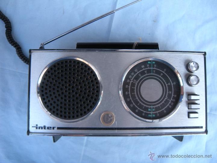Radios antiguas: RADIO TRANSISTOR INTER. - Foto 8 - 123570736