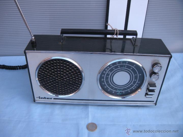 Radios antiguas: RADIO TRANSISTOR INTER. - Foto 9 - 123570736