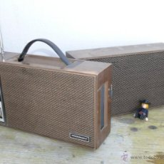 Radios antiguas: RADIO ANTIGUA DE TRANSISTORES CON ALTAVOZ PROMINENT JAPAN. Lote 43285172