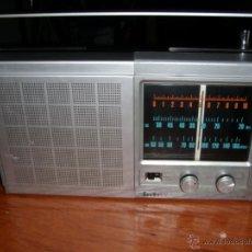 Radios antiguas: RADIO INTER E-158 E 158 FUNCIONANDO. Lote 43424118