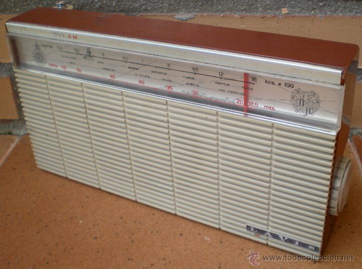 RADIO TRANSISTOR LAVIS 320 AM (Radios, Gramófonos, Grabadoras y Otros - Transistores, Pick-ups y Otros)