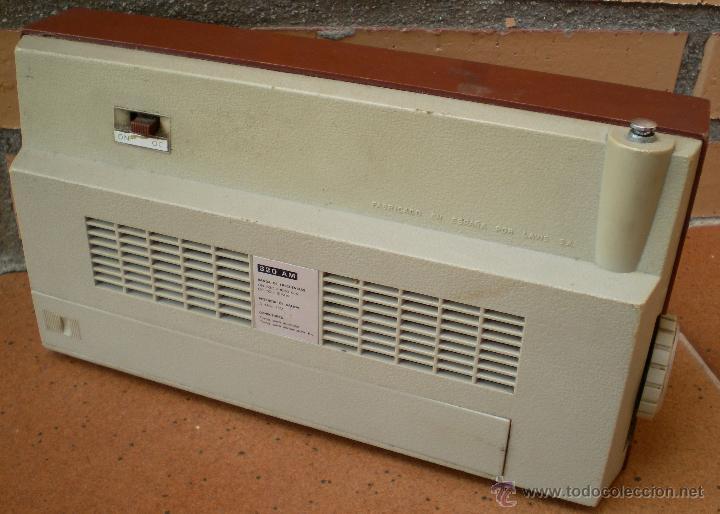 Radios antiguas: Radio Transistor Lavis 320 AM - Foto 2 - 43609669