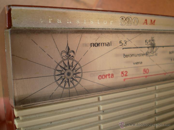 Radios antiguas: Radio Transistor Lavis 320 AM - Foto 4 - 43609669